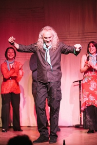 Luis de La Tota dancing por buleria-Photo courteousy of Chris and Mitsue Johnson from Solo Flamenco Studios