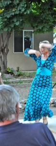 EDR student Christina bailando por tangos
