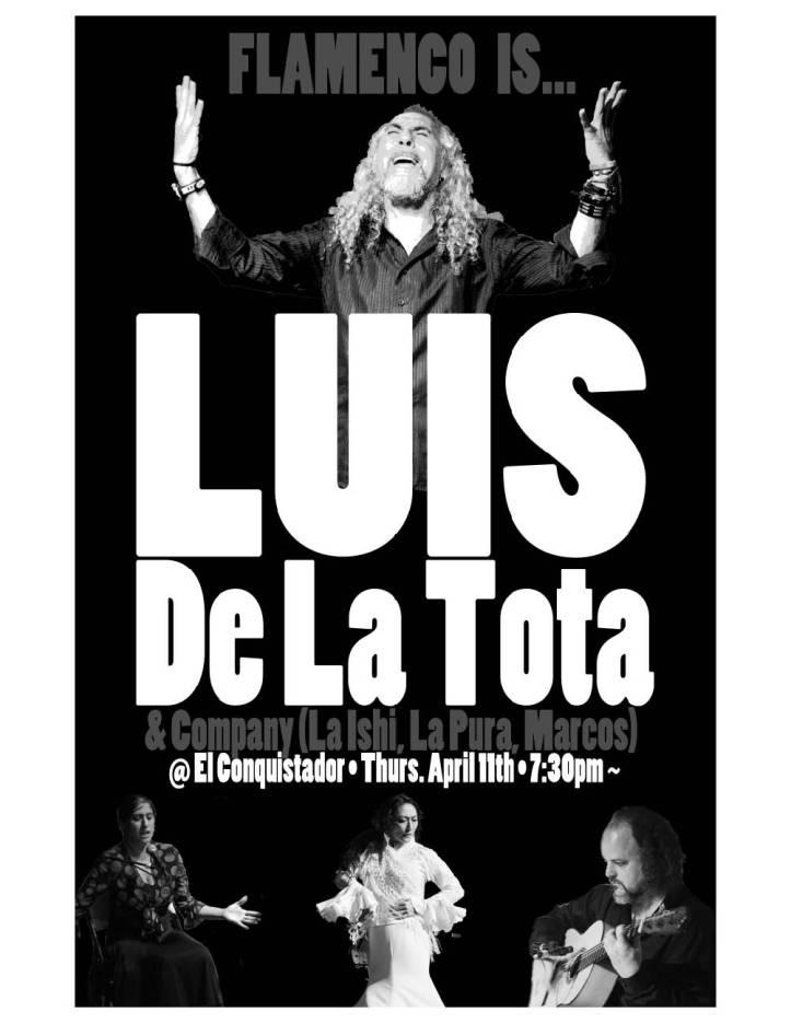 April 11 7:30 @ Conquistador PORTLAND OR