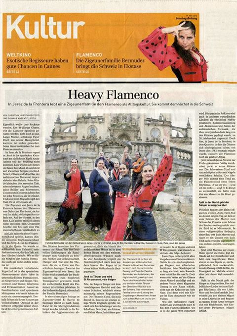 SWITZERLAND-'HEAVY FLAMENCO'