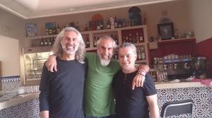 Ali, Luis and Jesus