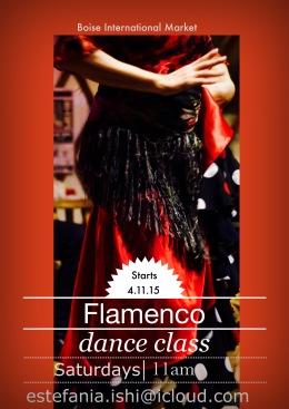 Saturday 11-12pm dance class @ Boise International Market w/LaIshi